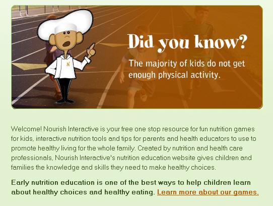 14 Nutrition Sites For Kids Ed Tech Ideas