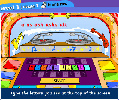 Keyboarding Sites for Kids (1/6)