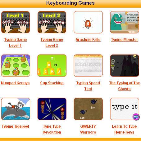 Keyboard Only games on Kongregate