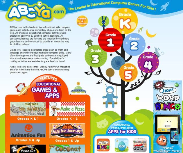 The Word Websites: 48 Ultra-Cool Summer Sites For Kids And Teachers